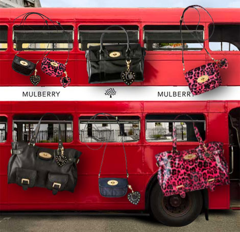 Mulberry handbags collection for Target