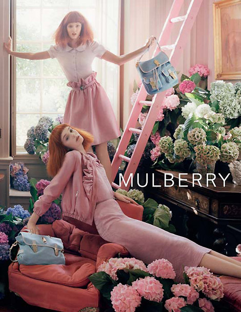 Mulberry Spring Summer 2011 ad campaign