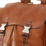 Mulholland Deerskin Backpack details