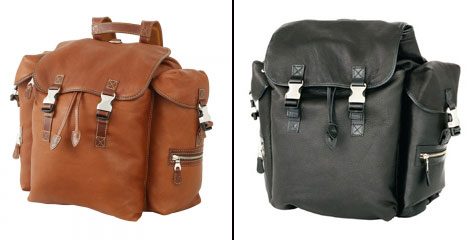 Mulholland Deerskin Backpack