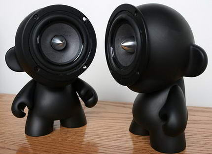 Munny Speakers Black