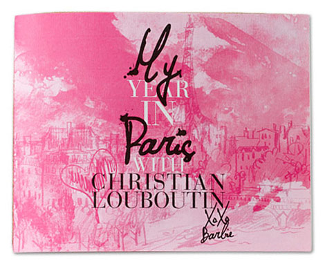 My Year In Paris Christian Louboutin Barbie