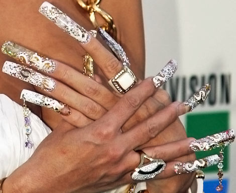 nail art piercings Dare to Wear These Nails