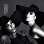Naomi and Kate by Mert and Marcus For Interview Russia