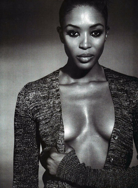 Naomi Campbell French Vogue Magazine