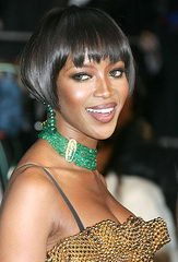 naomi campbell haircut