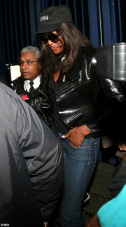 Naomi Campbell Heathrow Arrest