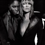 Naomi Campbell and Kate Moss in French Vogue Magazine