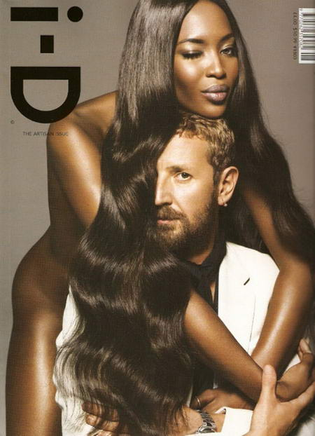 I-D Naomi Campbell And Stefano Pilati August 2008