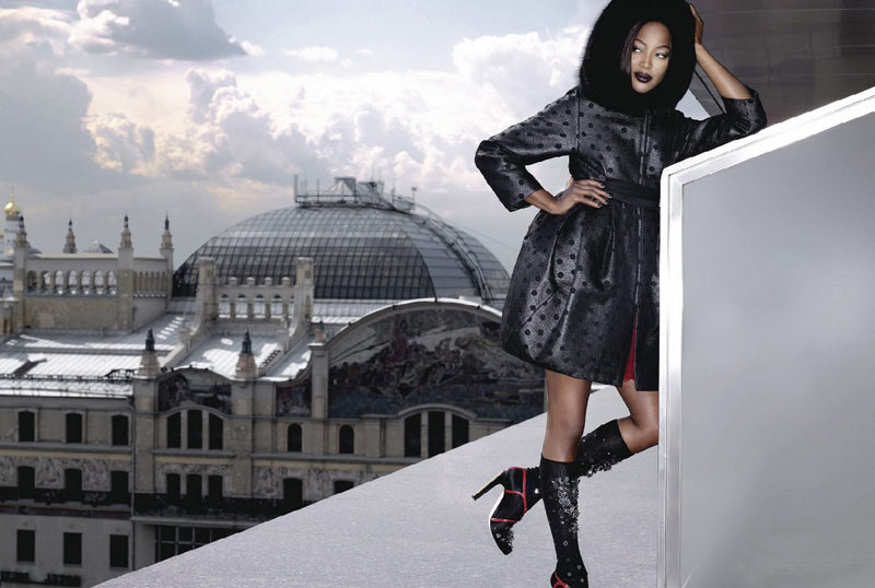 Naomi Campbell v61 Stranger in Moscow Lagerfeld 2