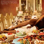 Naomi Campbell Vogue Italy All Black Issue July 2008 Pictures