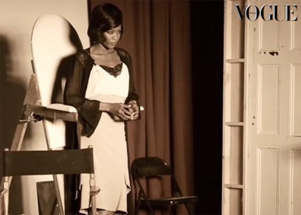 Naomi Campbell Vogue Italy February 2013 pictorial