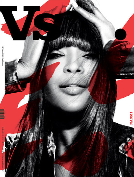 Naomi Campbell Vs Magazine Fall 2010 cover
