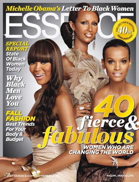Naomi Iman And Liya Cover Essence September 2010