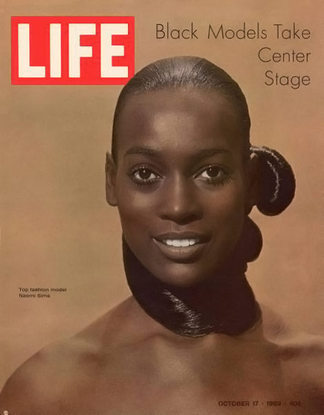 Naomi Sims Life magazine cover
