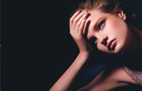 Natalia Vodianova Chanel Makeup Fall Collection
