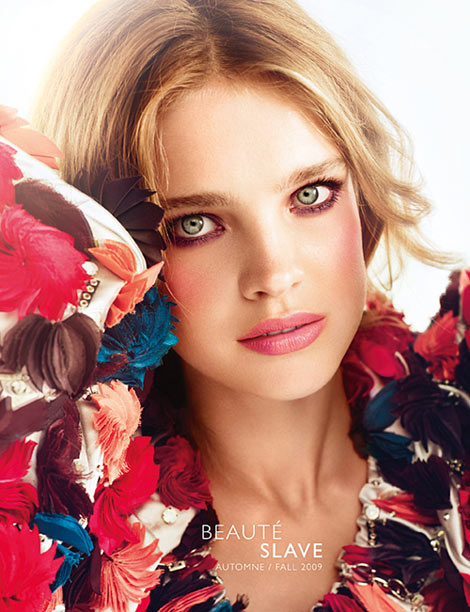 Natalia Vodianova Guerlain Makeup Collection Fall 2009
