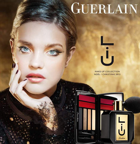 Festive Winter Makeup: Natalia Vodianova For Guerlain