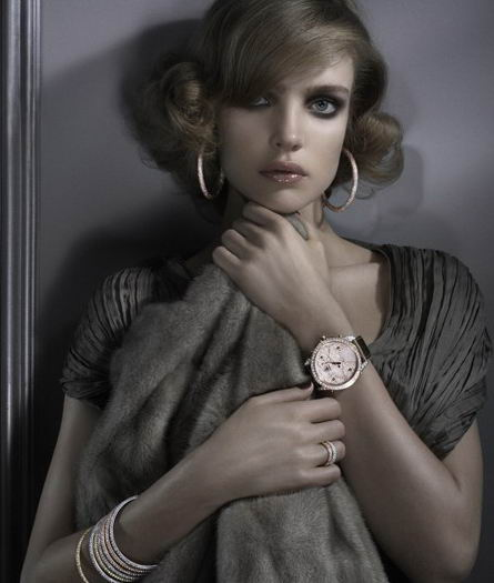 Natalia Vodianova Ad For Jacob & Co