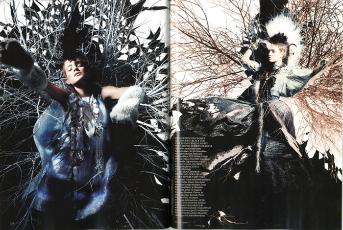 Natalia Vodianova Vogue UK February 2010 3