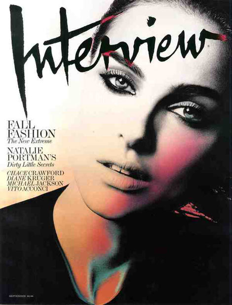 Natalie Portman Interview September 2009 cover