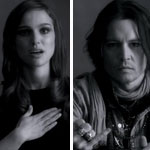 natalie Portman Johnny Depp McCartney My Valentine video