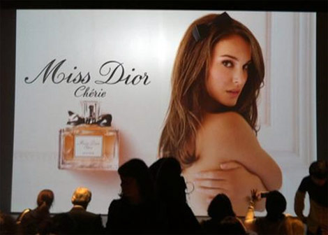 Natalie Portman Is Miss Dior Cherie 2011
