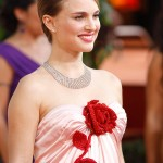 Natalie Portman pink dress Golden Globes 2011 3