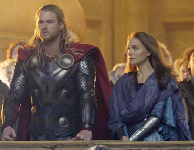 Natalie Portman in Thor 2 First Look