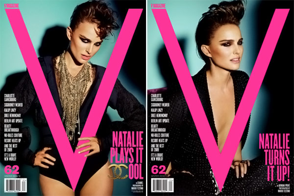 Natalie Portman Covers V 62 November December 2009