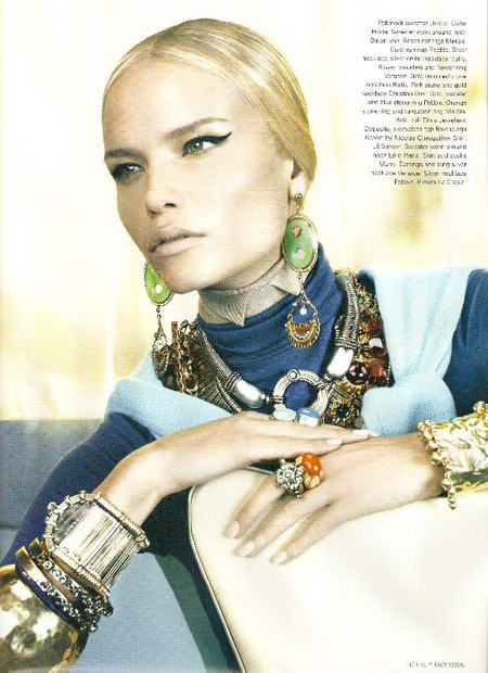 Natasha Poly for I D Magazine October 08