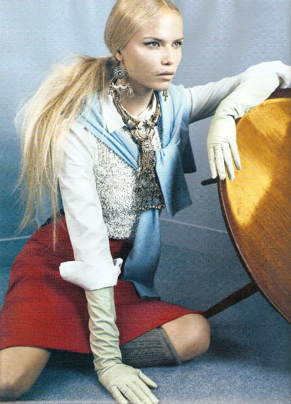 Natasha Poly I D magazine October 08