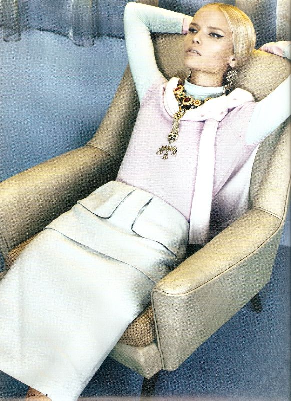 I-D Natasha Poly In October 2008