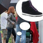 Natasha Romanoff Black Widow Nike black sneakers Captain America
