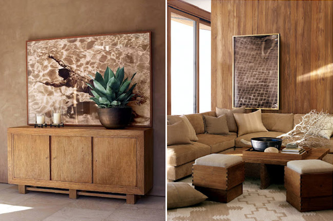 natural tones Ralph Lauren home