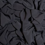 Navy blue bow dress Mulberry detail
