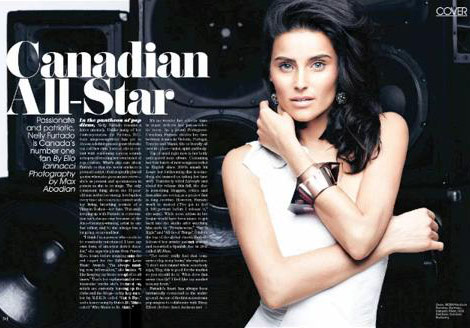 Nelly Furtado Flare Canada July 2010
