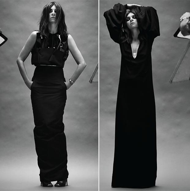 Net a Porter with Carine Roitfeld