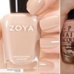 neutral nails zoya opi