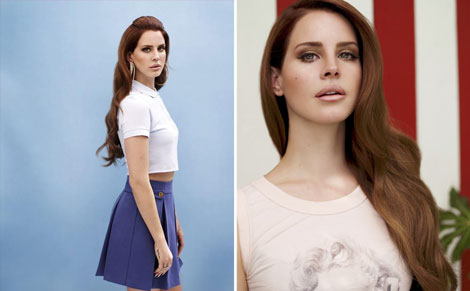 new Versace ad campaign starring Lana del Rey