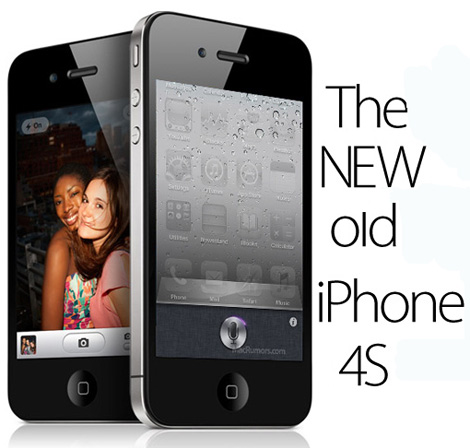Apple Launched A New iPhone Today. iPhone 4S