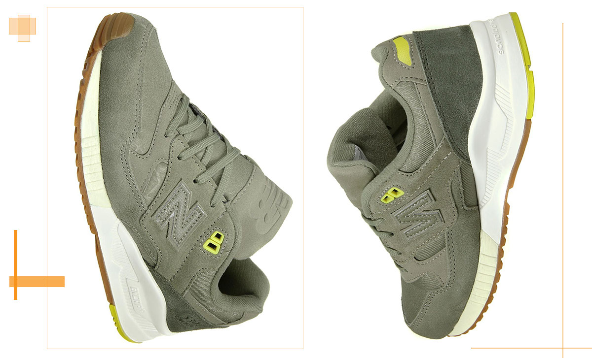 new balance olive green sneakers