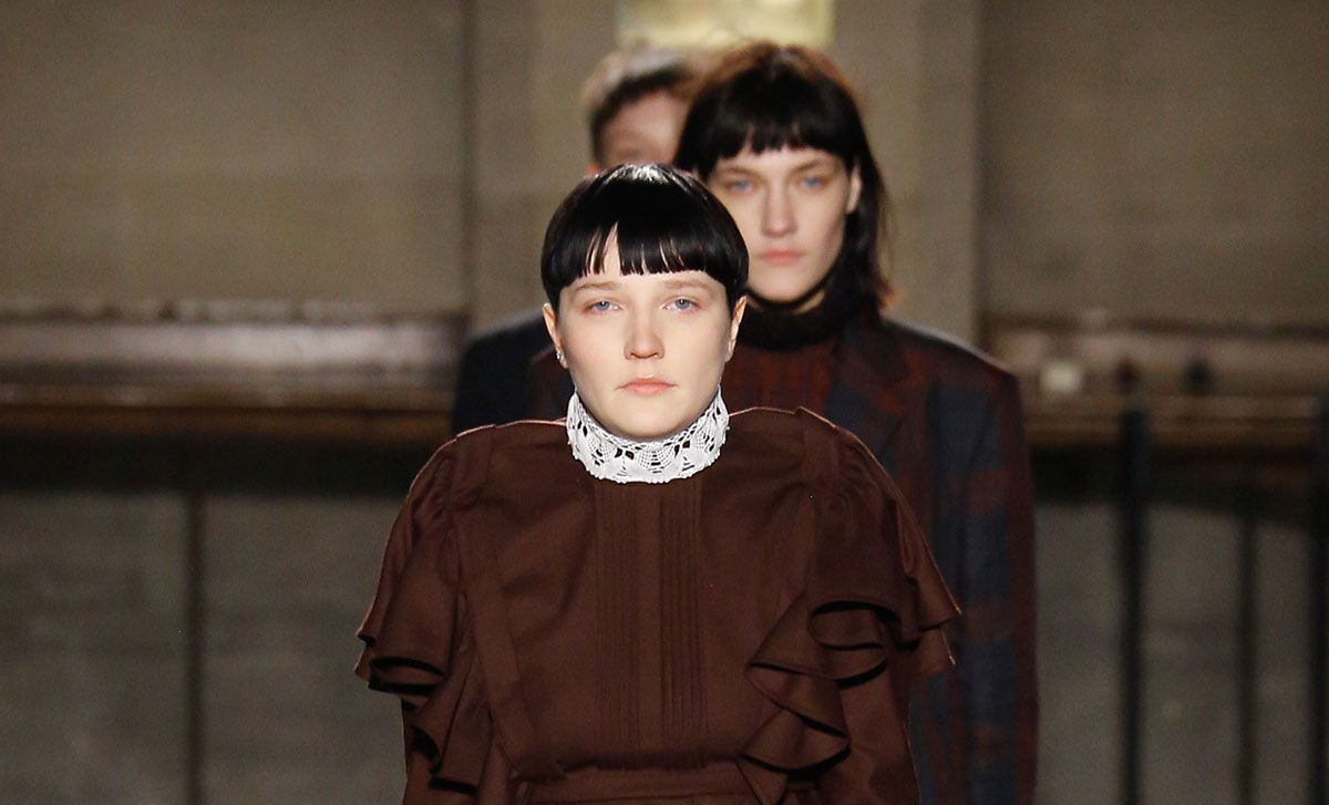 new hair trend as seen on the catwalk vetements fw17
