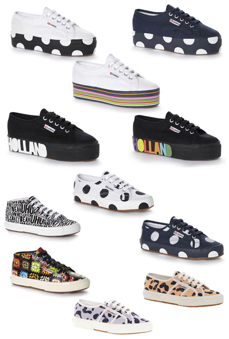new must have sneakers Superga House of Holland