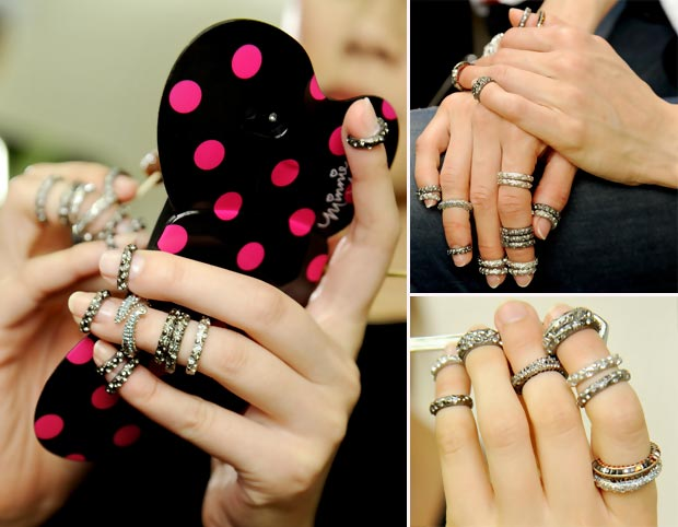 new rings trend Chanel