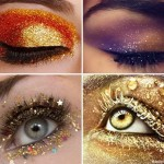 New Year s Eve party eyes makeup