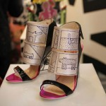 Nicholas Kirkwood Keith Haring shoes collection drawings