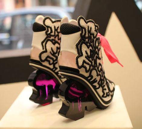 Nicholas Kirkwood Keith Haring shoes collection heels