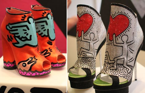 Nicholas Kirkwood Keith Haring shoes collection