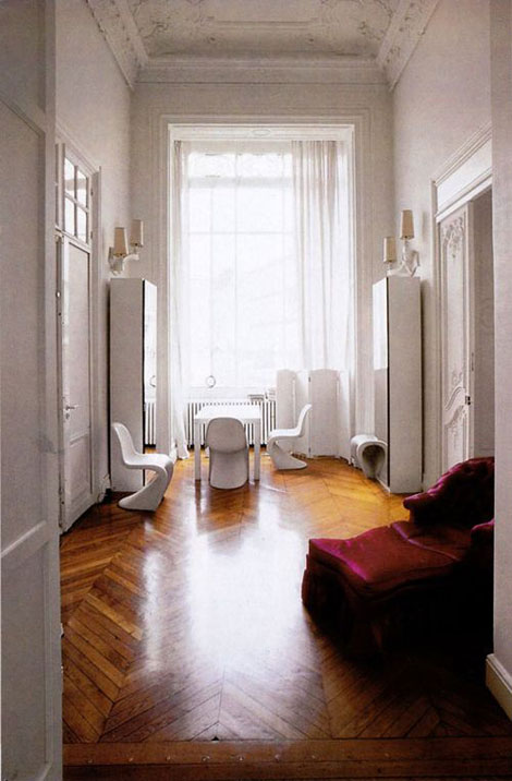 Nicolas Ghesquiere Paris Apartment
